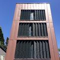 fachada de zinc