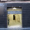 Fachada e interior en obras