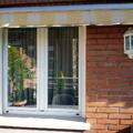 fachada posterior, detalle ventana