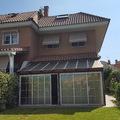 fachada posterior porche