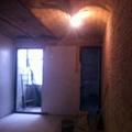 Fase de obra de reforma del loft.
