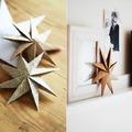 decoración con papel