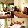 Fotografías del estado actual de la planta alta del interior de la vivienda