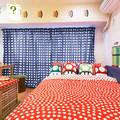 dormitorio decorado como mario bros