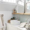 grifo sencillo de baño