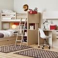 Habitación doble para estudiar y dormir