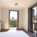 Habitación en esquina con doble balconera