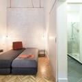 Habitación en suite muy sencilla