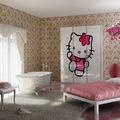 habitación hello kitty