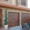 imitación madera puerta garaje estilo español