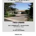 Informe urbanistico