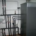 Instalación de caldera con acumulación ACS 150 litros.