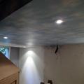 Instalación de Papel Vinilico Imitación Cielo con Nubes