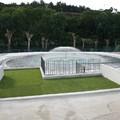Integración de cuarto de instalaciones de piscina infantil