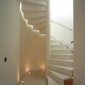 Interior, escalera