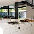 Interior planta baja - cocina + comedor