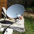 Internet rural vía satélite