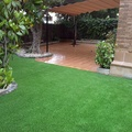 Jardín terminado.