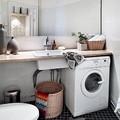 lavador debajo de encimera baño