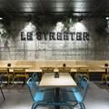 Le Streeter, vista del comedor