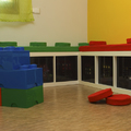 Lego en los cojines