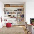 libreria de madera a medida