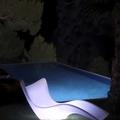 Luminarias para exterior con forma de tumbona