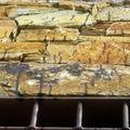 Manchas de aceite en piedra