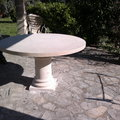 Mesa con pie