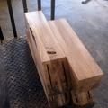 Mesa maciza en madera de roble