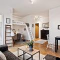 mini apartamento escandinavo