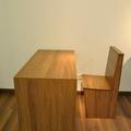 Mobiliario realizado con laminado suelo
