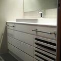 mueble de baño lacado blanco mate