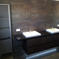 mueble de diseño a medida y radiador de diseño