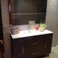 Mueble de lavabo de 120 cm