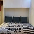 Mueble multifunción con cama abierta