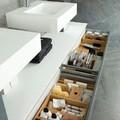 mueble para organizar productos baño