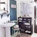 mueble pared para guardar toallas