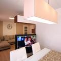 Mueble rotativo TV. Vista des del Comedor