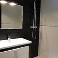 Mueble y columna de ducha
