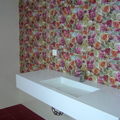 Mural en baño