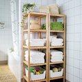 estanterías para organizar baño