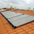 Paneles en tejado
