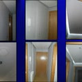 papel pintado,falso techo de pladur con sensor de movimiento,iluminacion indirecta