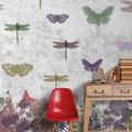 papel pintado mariposas