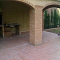 Pavimento ceramico en porche