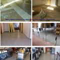 pavimento epoxi sobre gres en cafeteria y cocina