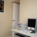 Pintura plástica lisa en despacho