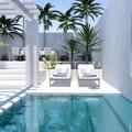 piscina con agua de mar