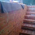 preparacion de escalera